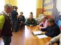 Глава муниципального образования – Председатель городского совета Борис Егоров принял участие в заседании призывной комиссии в Алуштинском военкомате в качестве Председателя призывной комиссии
